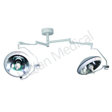 Factory Price for Double Dome Operating Room Lamp dual head halogen medical lamp for hospital export to China Taiwan Wholesale
